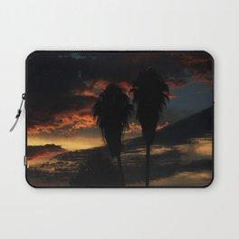 Palms On a Sunset Laptop Sleeve
