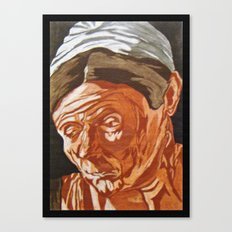 The Honest Maid Canvas Print