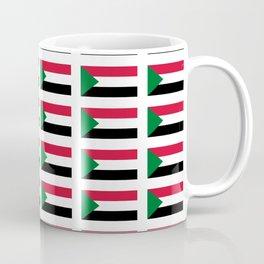 flag of sudan -sudan,السودان ,sudanese,nubia,khartoum,omdurman Coffee Mug