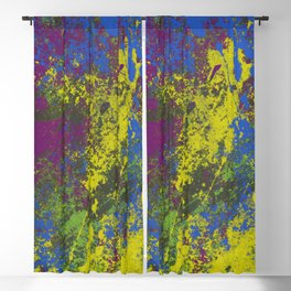 Clouded Judgement - Abstract Modern Painting Blackout Curtain