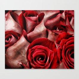 Velvet Roses Canvas Print