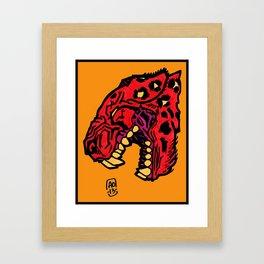 crimson Framed Art Print