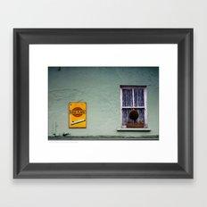 ..irish... Framed Art Print