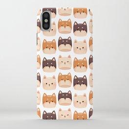 Shiba Inu Marshmallow iPhone Case