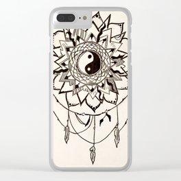 Acchiappa-sogni Clear iPhone Case