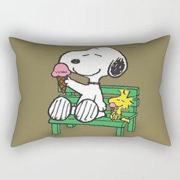 snoopy frases bonitas Rectangular Pillow