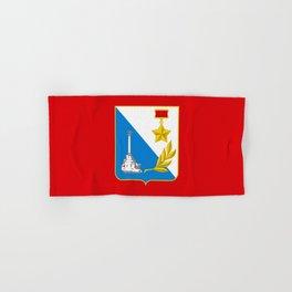 flag of Sevastopol Hand & Bath Towel
