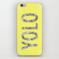 yolo iPhone & iPod Skins featuring yolo by terezamc.