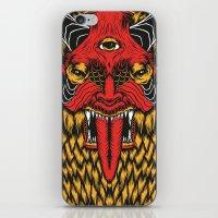 diablo iPhone & iPod Skins featuring DIABLO by MIRKOW GASTOW