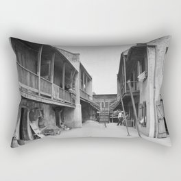 New Orleans, Louisiana, 1937-1938 Rectangular Pillow