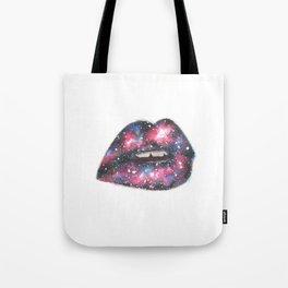 Galactic Kiss Tote Bag