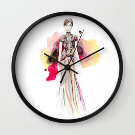 Marchesa Fall Wall Clock