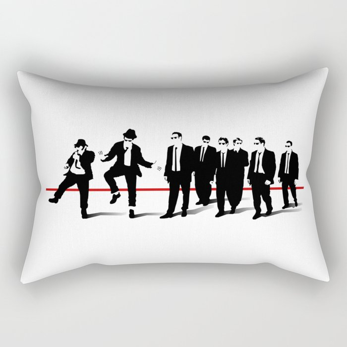 Reservoir Brothers Rectangular Pillow