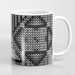 grey knit Coffee Mug