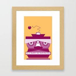 TIKIBOT Framed Art Print