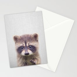 Raccoon - Colorful Stationery Cards