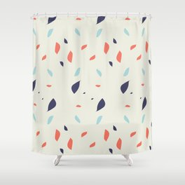 Poppy Drops Shower Curtain