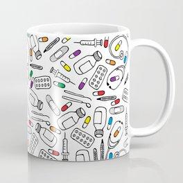 Hospital Pattern Coffee Mug