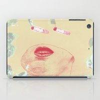 cigarettes iPad Cases featuring Delicious Cigarettes by Dustin Davis