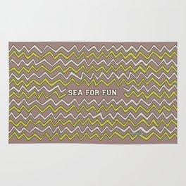 Sea for fun (brown) Rug