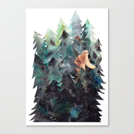 Bigfoot Forest Canvas Print