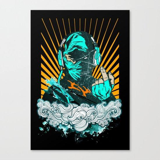 Ninja Beats Canvas Print