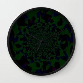 Moss Rose Wall Clock