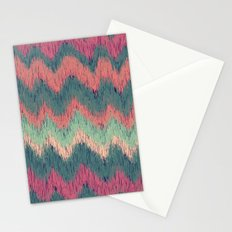 IKAT CHEVRON Stationery Cards