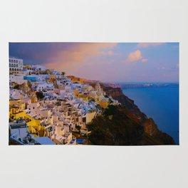 Santorini,Greece Rug