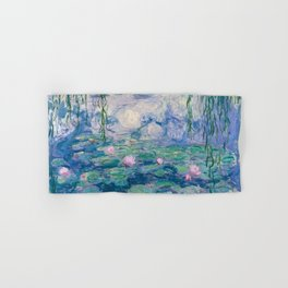 Water Lilies Claude Monet Fine Art Hand & Bath Towel