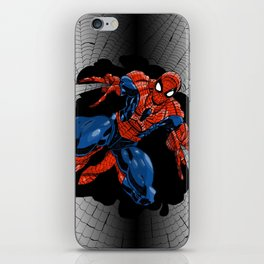 Spidey Color iPhone Skin