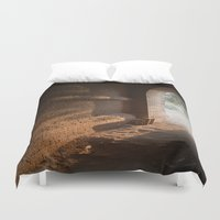 pagan Duvet Covers featuring Morning Light by Maria Heyens
