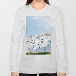 Lost in Santorini Greece Long Sleeve T-shirt