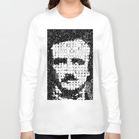 poe Long Sleeve T-shirts featuring Poe by Artstiles