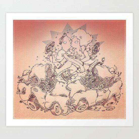 The Ideal Crash Art Print