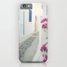 White Santorini Street Slim Case iPhone 6s