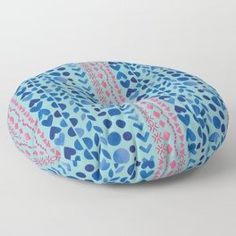Watercolour Shapes - Magic Villa Floor Pillow