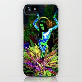 St. Mary of the Lotus (Sta. María de el loto) iPhone Case