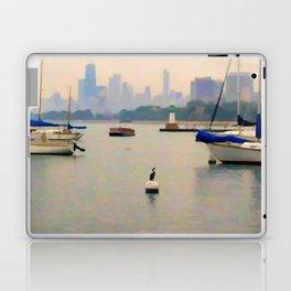 Lake by the City Laptop & iPad Skin
