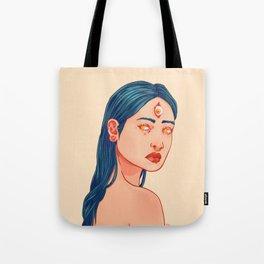 Three eyed Tote Bag