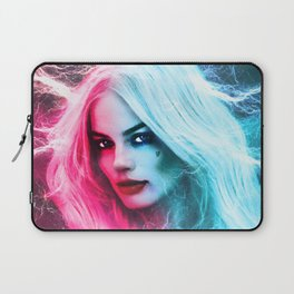 The creation of Harley Quinn - Margot Robbie Laptop Sleeve