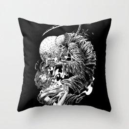 dead line Throw Pillow