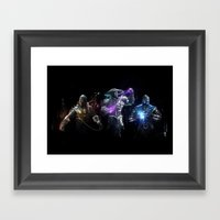 MK Alliance Framed Art Print
