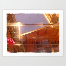 My copper mirror Art Print