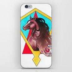 art deco horse iPhone & iPod Skin