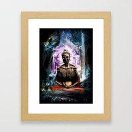 Spiritual Healing Framed Art Print