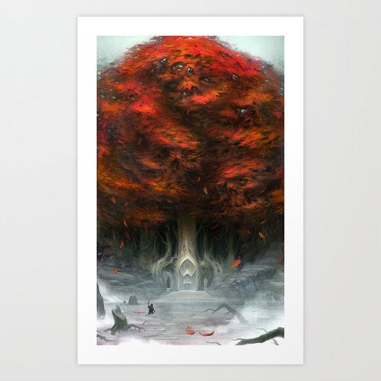 Tree of Duality Art Print