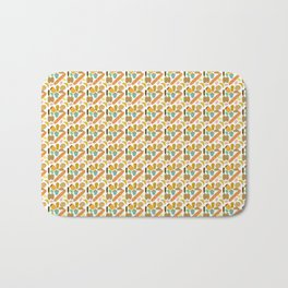 Mini Patisseries de France French Pastries and Breads Bath Mat