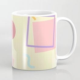 Light Yellow Memphis Coffee Mug