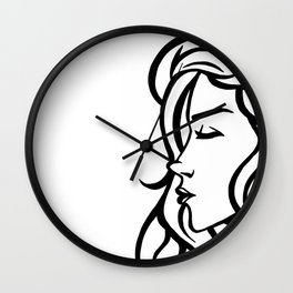Profile Wall Clock